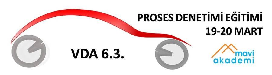 vda 6.3 proses denetimi e�itimi